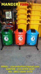 tong sampah fiber 6 liter