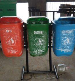 tong sampah fiber 3 in 1, harga tong sampah fiber 3 in 1, jual tong sampah fiber,