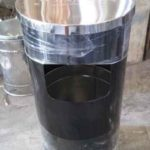 Tong sampah stainless B4