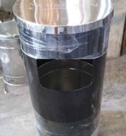 tong sampah stainless