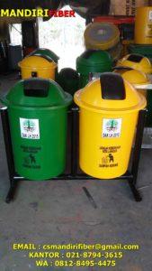tong sampah fiber, harga tempat sampah, harga tong sampah bhawan