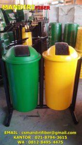 tong sampah fiber murah, harga tong sampah fiber bulat, jual tempat sampah fiberf,