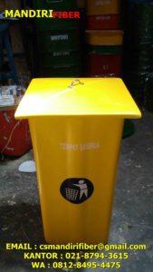 tong sampah fiber kotak polos, jual tong sampah fiber kotak polos,