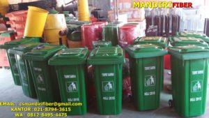 tong sampah fiber 120 liter
