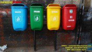 tong sampah fiber, harga tong sampah fiber, jual tempat sampah fiber