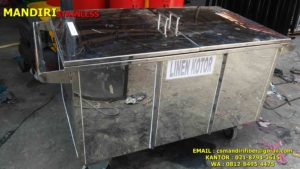 trolley linen kotor, harga trolley linen, trolley laundry, jual trolley house keeping