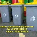 Tong Sampah Fiberglass 120 liter custom