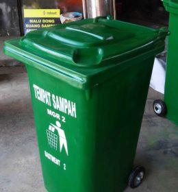 tong sampah fiber 240 liter