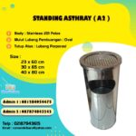 Tong sampah stainless single ( A2 )