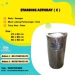 Standing asthray single C