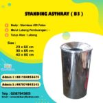 Tong sampah stainless ( B3 )