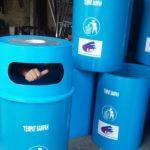 Tempat sampah besar 150 liter