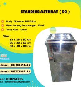 tempat sampah stainles, standing asthray, harga tong sampah stainless di Bandung, jual tong stainless di Surabaya, tong sampah stainless steel