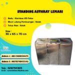 Tong sampah lemari stainless 3 in 1