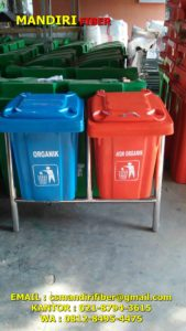 jual tong sampah fiber warna, harga tong sampah fiber,