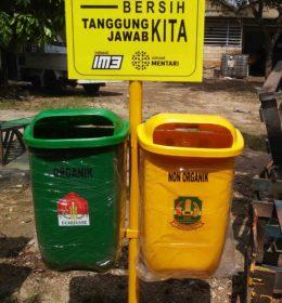 tong sampah fiber, harga tong sanpah fibr,