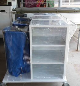 trolley linen, harga trolley house keeping, jual trolley linen, jual trolley housekeeping
