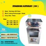 Tong Sampah Stainless Kotak
