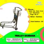 Trolley Bandara 3 Roda Brake