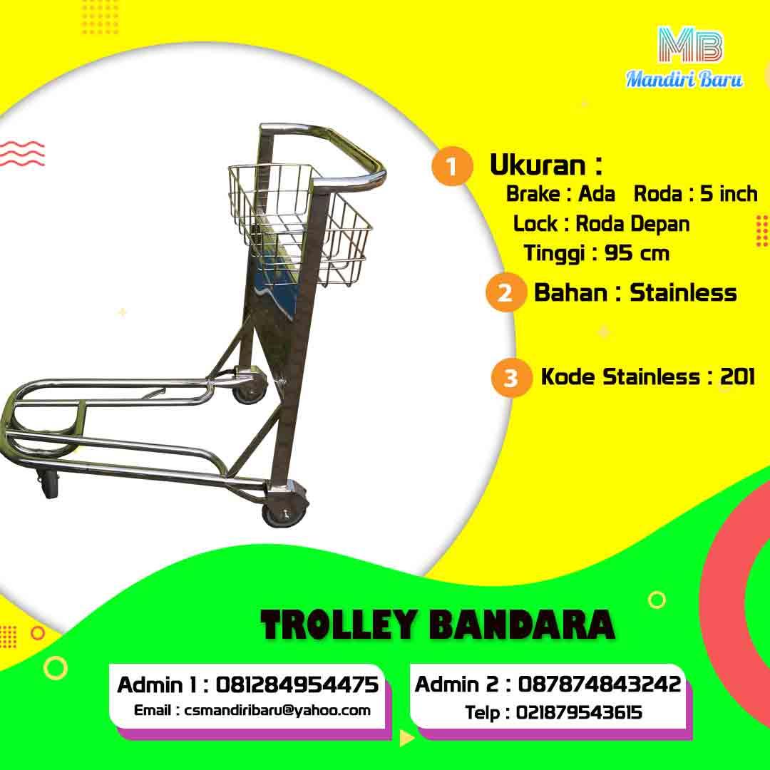 jual trolley bandara, harga trolley bandara, trolley banadara, harga trolley bandara di Bogor, jual trolley bandara di Jakarta, trolley bandara di Surabaya,