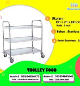 trolley makanan, jual trolley makanan, harga trolley makann di Bogor, jual trolley makanan di Jakarta, harga trolley makana di Surabaya,