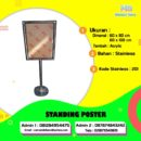 Jual standing poster, harga standing poster, harga standing poster murah jakarta