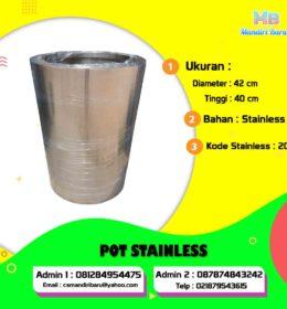 pot stainless, harga jual pot stainless, harga pot stainless, jual pot stainless di Bogor, harga pot stainless di Jakarta, Jual pot stainless di Surabaya, pot stainless di Bandung,