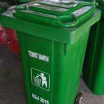 Tong Sampah Fiber Roda 120 Liter