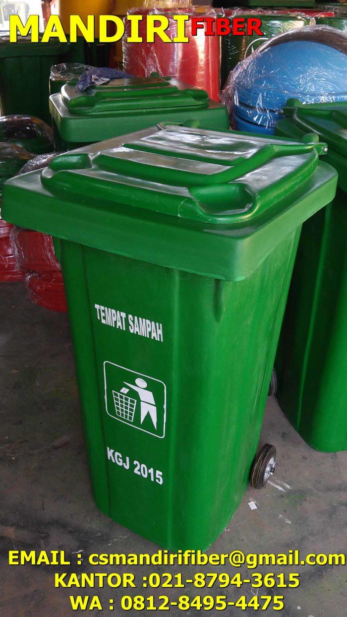 jual tong sampah fiber, harga tempat sampah fiber