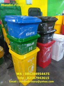 Jual tong sampah fiberglass