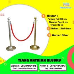 tiang-antrian-bludru, tiang antrain bludru di Jakarta, harga tiang antrian di Bagor, tiang antrian di Surabaya, harga tiang antrian di Bandung,