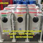 Tong sampah stainless custom