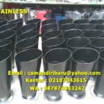 Tong Sampah Stainless Custom