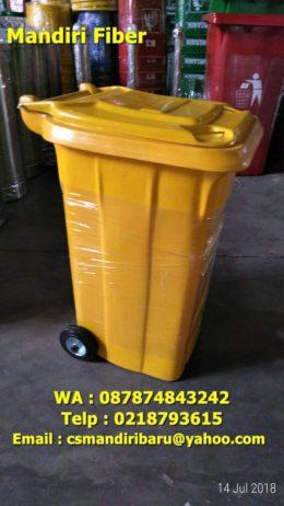 jual tong sampah fiberglass, harga tong sampah fiber