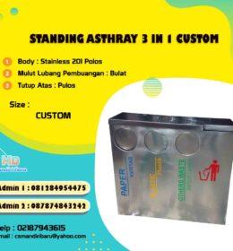 tong sampah stainless, harga tong stainlesss, harga tong sampah stainless di Bogor, tong stainless di Jakarta, tempat sampah stainless di Surabaya,