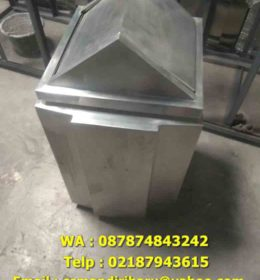 jual tong sampah stainless , harga tong sampah stainless steel, tong sampah stainless,