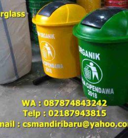 jual tong sampah fiberglass, harga tong sampah fiberglass