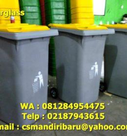 jual tong sampah fiberglass, tong sampah fiberglass
