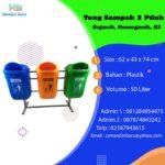 TONG SAMPAH 3 IN 1 PLASTIK DALTON