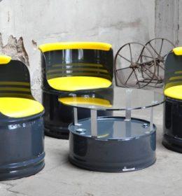 Kursi dari Drum Bekas mandiribaru.co.id