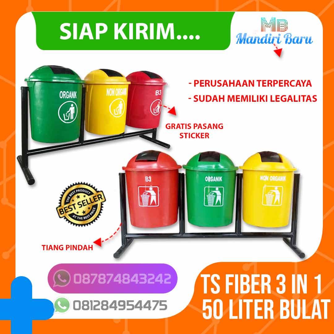 jual tempat sampah fiber 3 warna pilah organik anorganik, tong sampah fiber murah, jual tempat sampah fiber di jakarta, tong fiber di surabaya, pabrik tong sampah di yogyakarta,