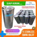 Tong sampah stainless single B2