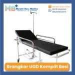 Jual Brankar UGD – Emergency Brancard Kumplit Bahan Besi