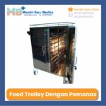 Food Troli dengan Pemanas 16 Susun – Food Trolley – Troli Makanan
