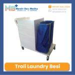 Troli Linen dengan Pintu – Troli Laundry