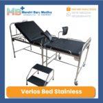 Verlos Bed – Meja Kebidanan – Bed Partus Bahan Stainless